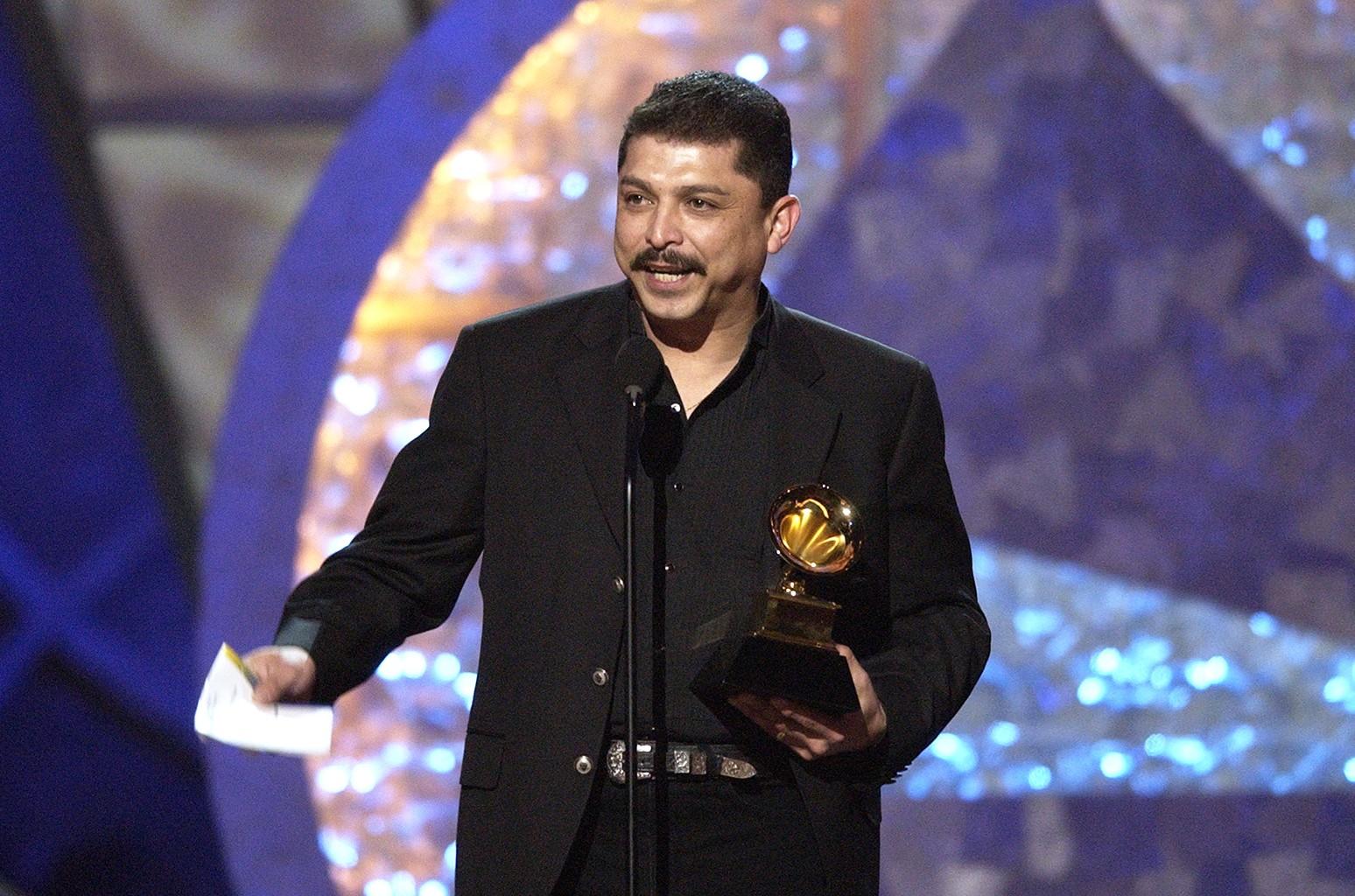 Emilio Navaira at the 45th Annual Grammy Awards