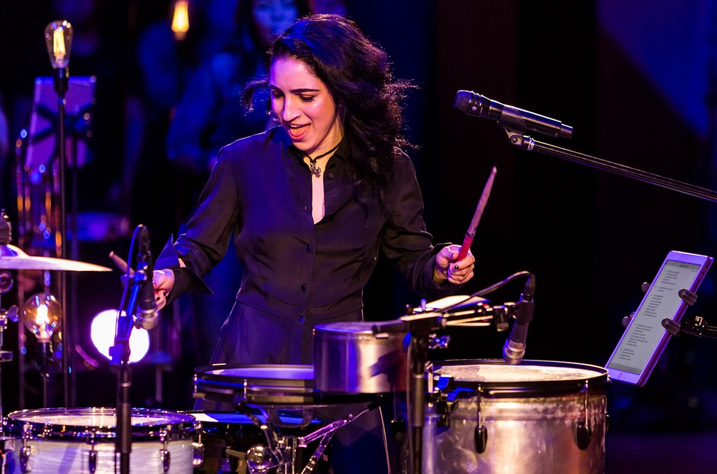 Emily Estefan performs at Frost School of Music's 33rd Annual Festival Miami.