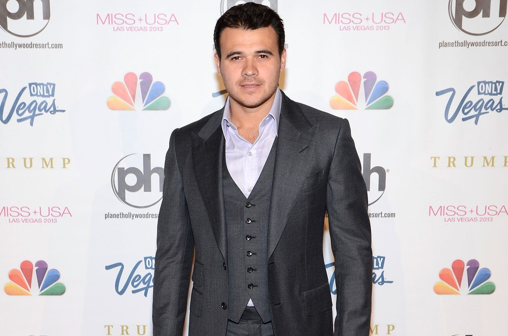 Emin Agalarov arrives at the Miss USA 2013 pageant on June 16, 2013 in Las Vegas.
