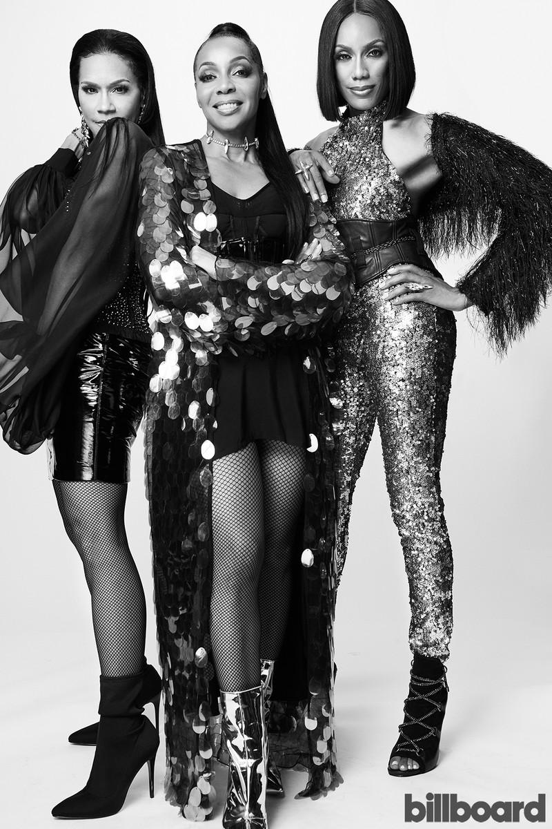 Cindy Herron, Terry Ellis and Rhona Bennett of En Vogue