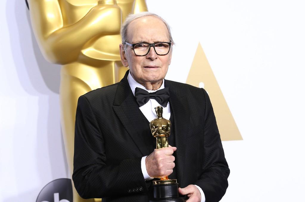 Ennio Morricone at the 88th Academy Awards