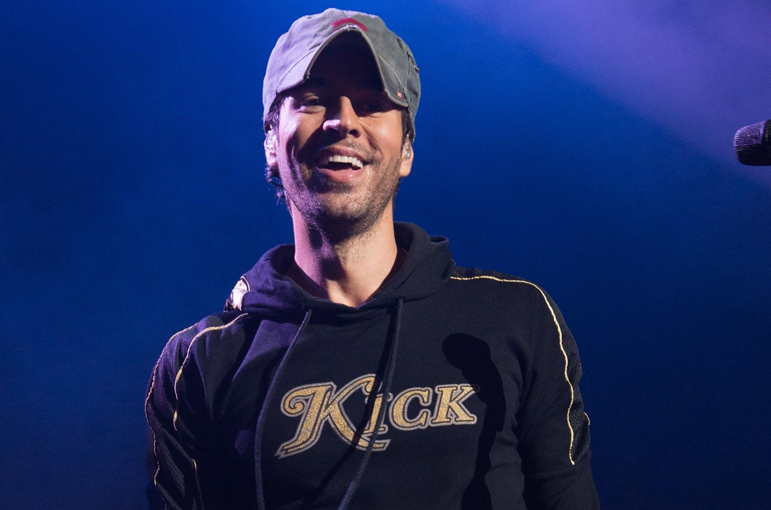 Enrique Iglesias performs at Nikon at Jones Beach Theater