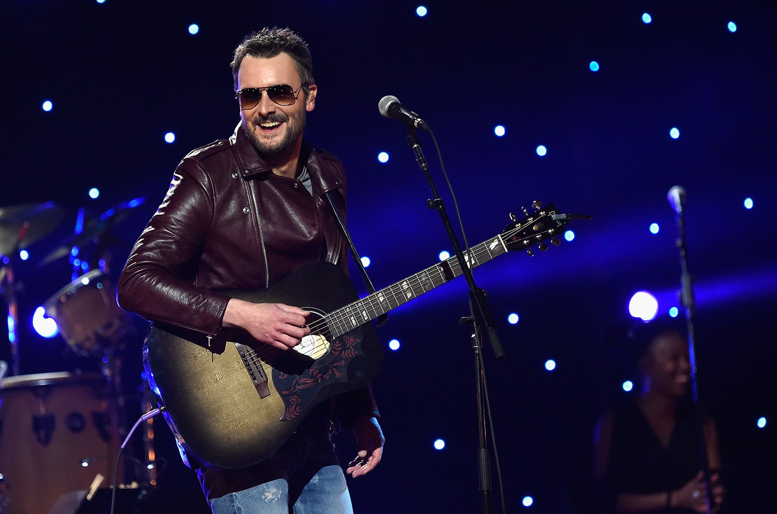 Eric Church performs on stage during the Imagine: John Lennon 75th Birthday Concert at The Theater at Madison Square Garden on Dec. 5, 2015 in New York City.