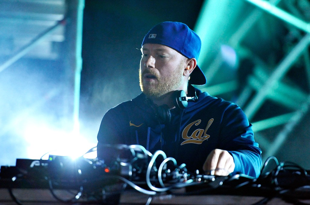 Eric Prydz performs in 2014
