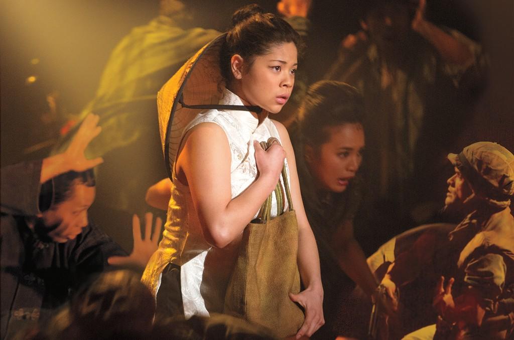 Eva Noblezada as Kim in 'Miss Saigon.'