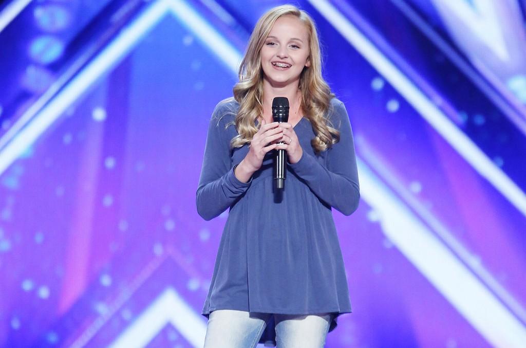 Evie Clair on America's Got Talent.