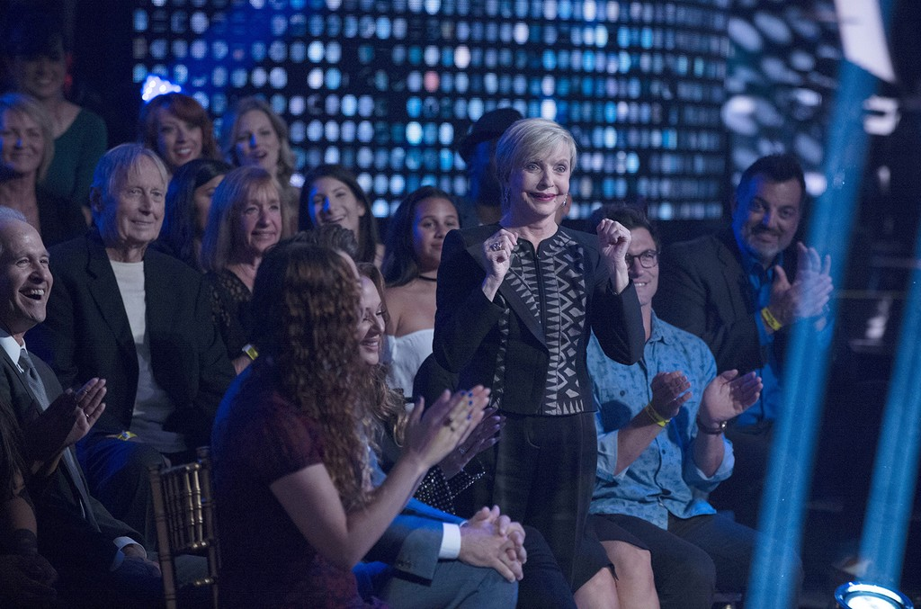 Florence Henderson on Dancing with the Stars.