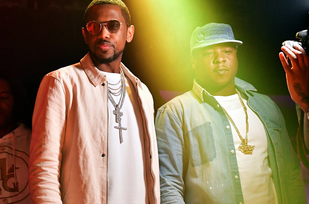 Fabolous and Jadakiss attend The Rich and Famous All Star Weekend Grand Finale at The Metropolitan on Feb. 20, 2017 in New Orleans.