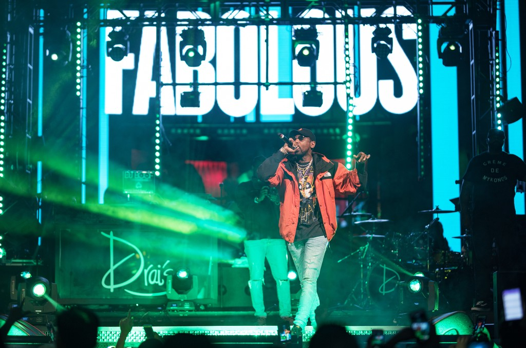 Fabolous performs at Drai's Nightclub in Las Vegas on March 12, 2017.
