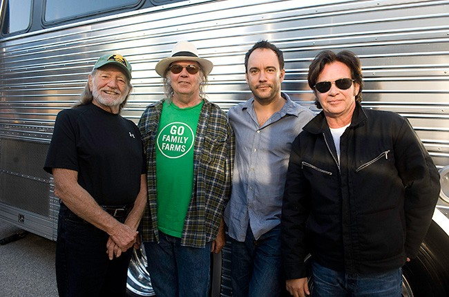<p>Farm Aid, headlined by&nbsp&#x3B;Willie Nelson, Neil Young, Dave Matthews and john Mellencamp, is the music industry's longest-running concert for a cause. &nbsp&#x3B;</p>
