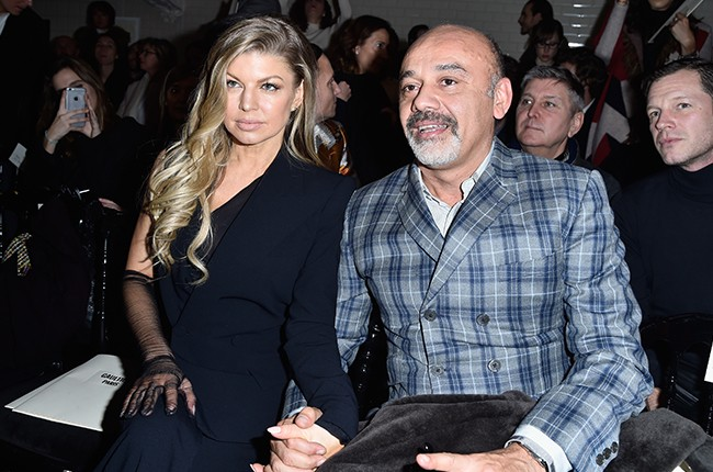Fergie and Christian Louboutin
