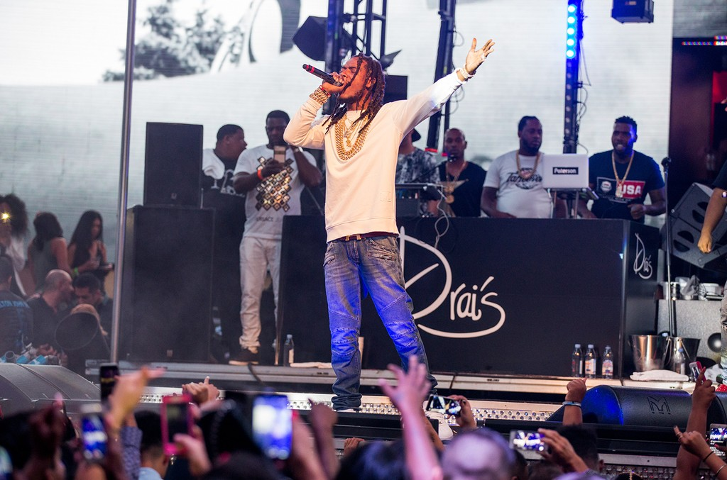 Fetty Wap performs at Drai's Nightclub at The Cromwell in Las Vegas on Sept. 17, 2016.