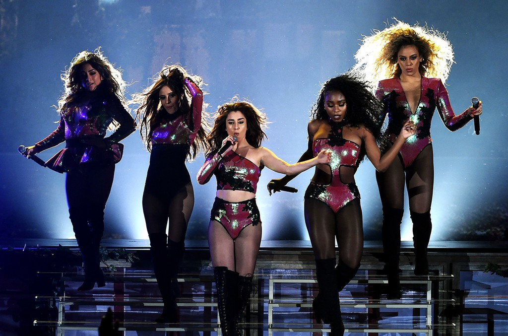 Fifth Harmony performs at the 2016 Billboard Music Awards at the T-Mobile Arena in Las Vegas on May 22, 2016.