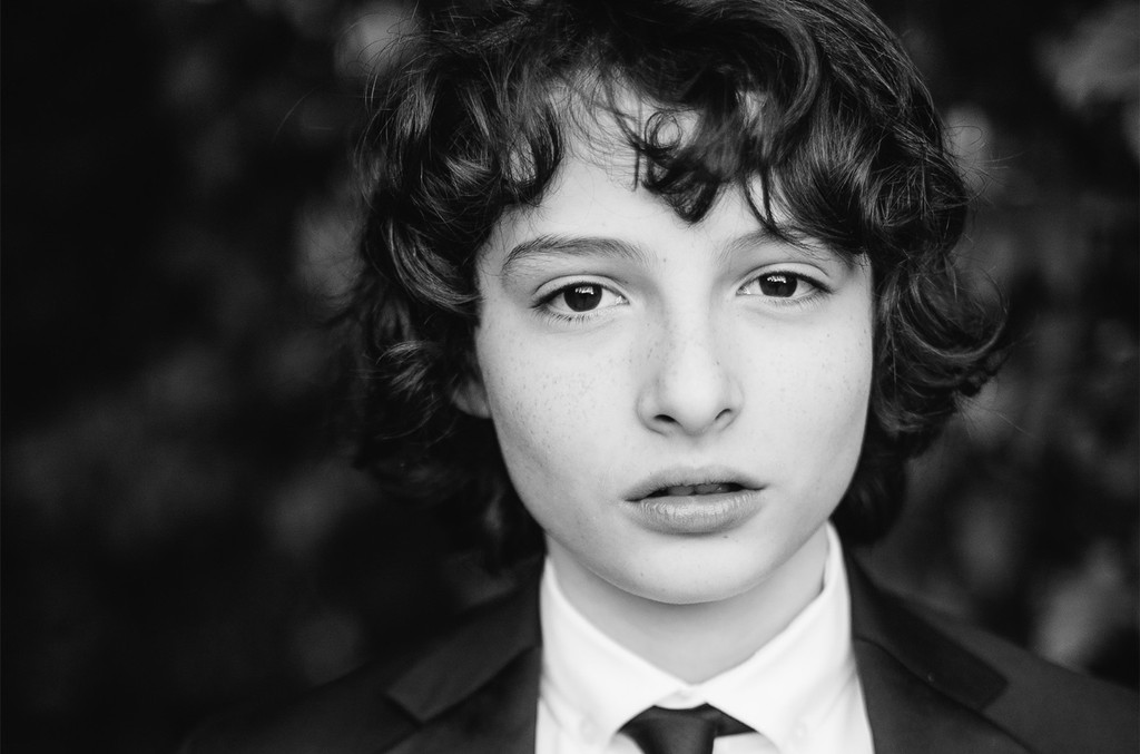 Finn Wolfhard attends 'Finn Wolfhard, Caleb McLaughlin and Noah Schnapp prepare for the 74th annual Golden Globes Awards' on Jan. 8, 2017 in Los Angeles.