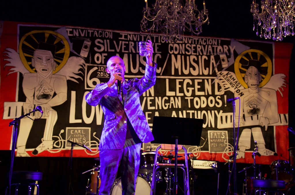 Flea at the 2017 Silverlake Conservatory of Music Annual Benefit.
