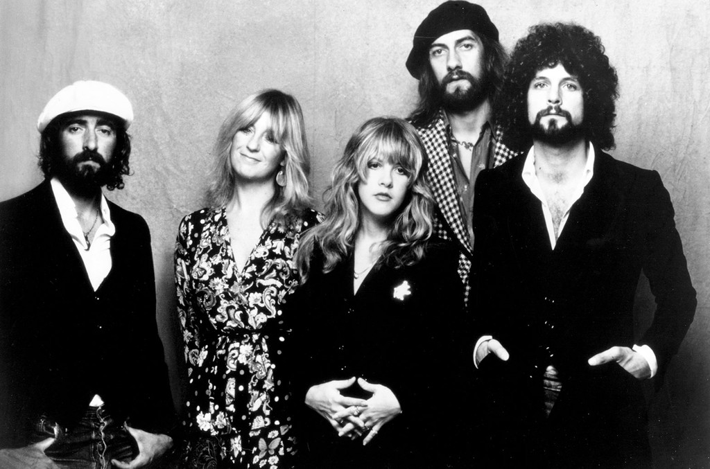 Fleetwood Mac photographed in 1975.