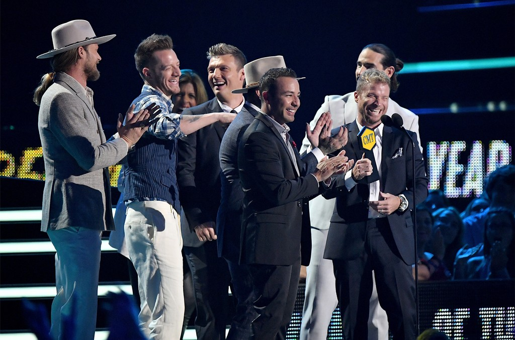 Florida Georgia Line and The Backstreet Boys