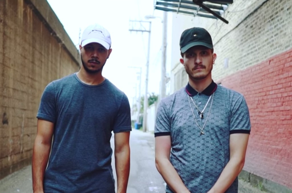 "Flosstradamus in the video for ""Came Up."""