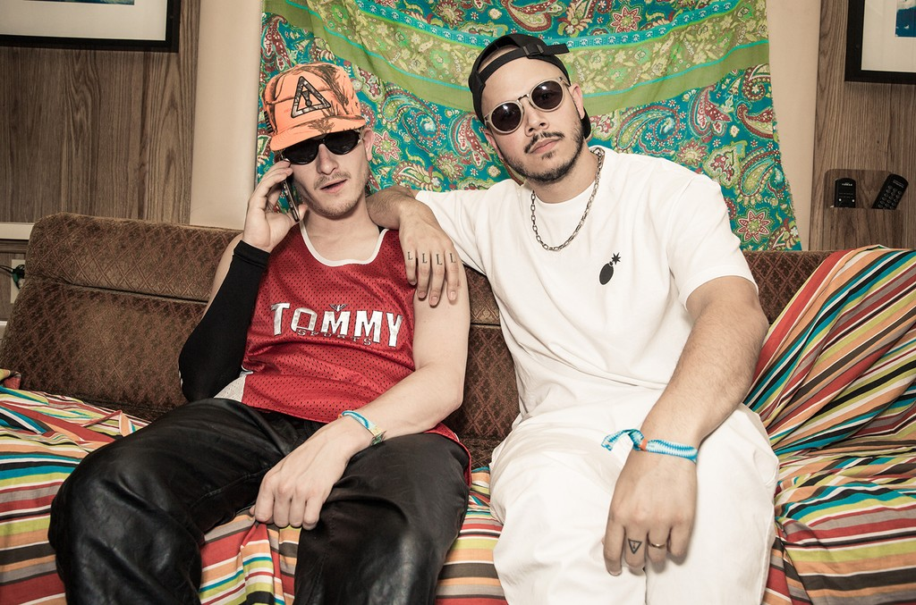 Flosstradamus photographed in 2015