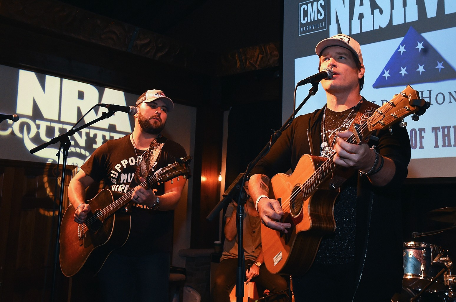 Tyler Farr and Jerrod Niemann perform at Folds of Honor