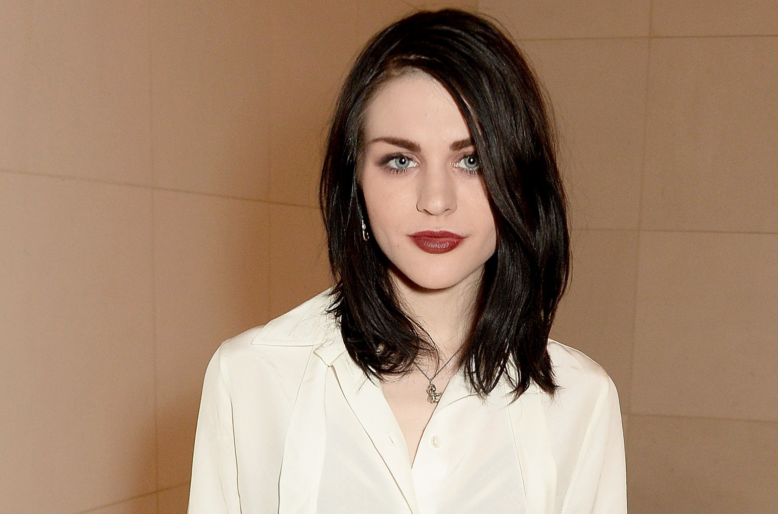 Frances Bean Cobain photographed in 2016