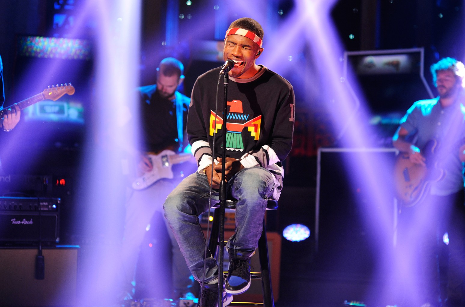 Frank Ocean performs on Saturday Night Live on Sept. 15, 2012.