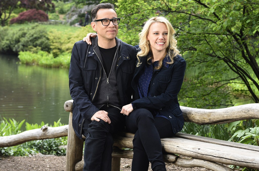 Fred Armisen and Kate McKinnon on Saturday Night Live