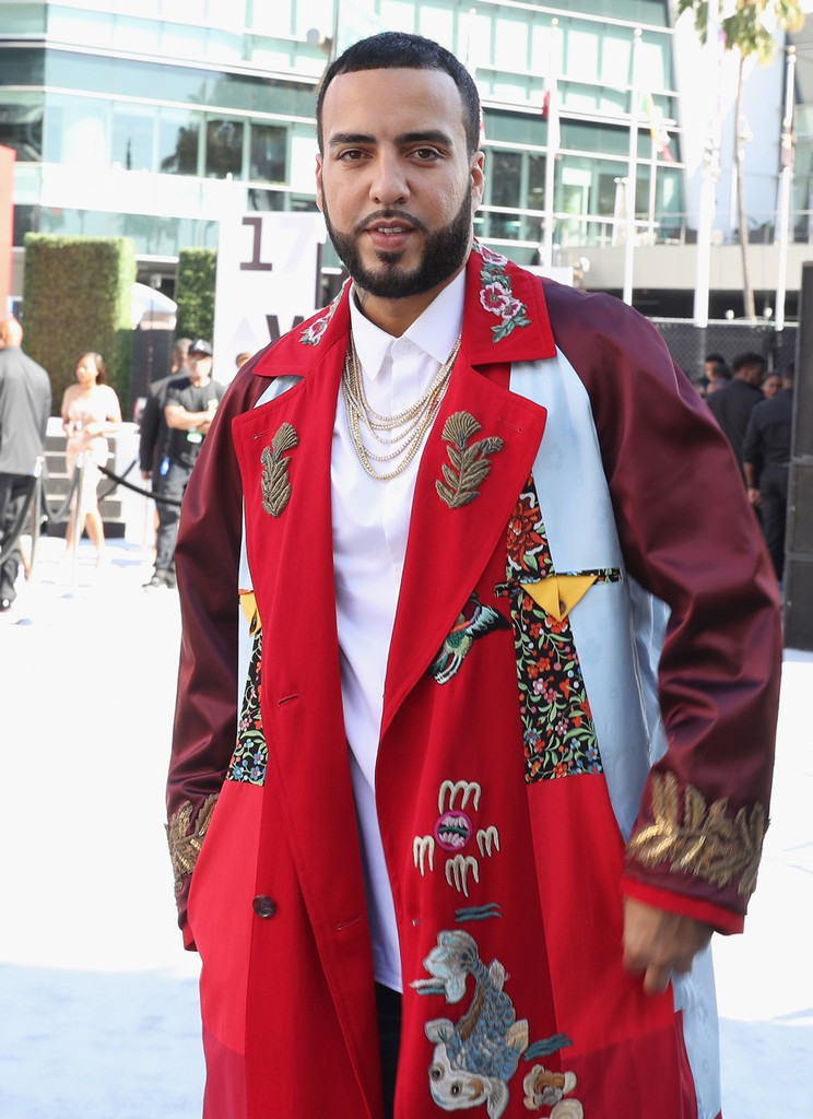 French Montana at Live! Red! Ready! Pre-Show at the 2017 BET Awards at Microsoft Square on June 25, 2017 in Los Angeles.