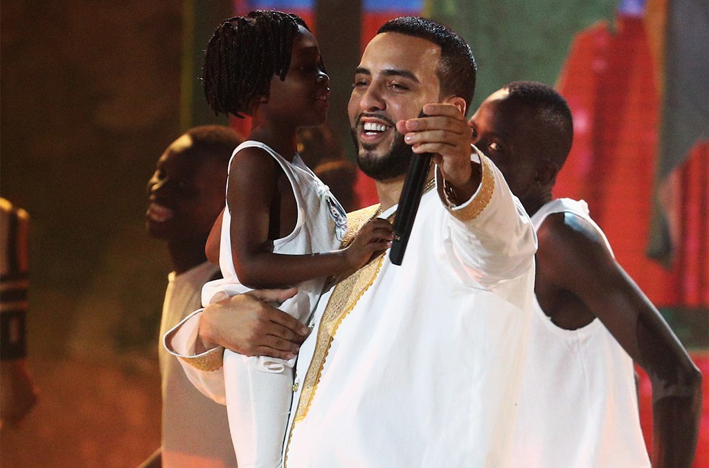 French Montana performs onstage at 2017 BET Awards at Microsoft Theater on June 25, 2017 in Los Angeles.