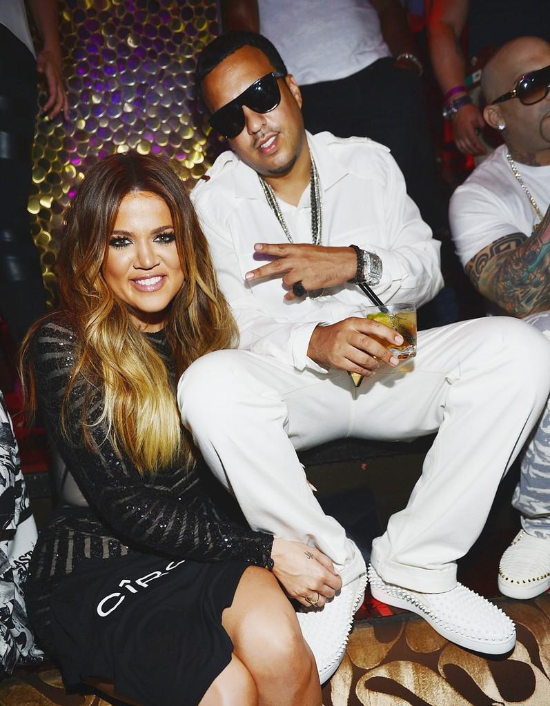 French Montana & Khloe Kardashian