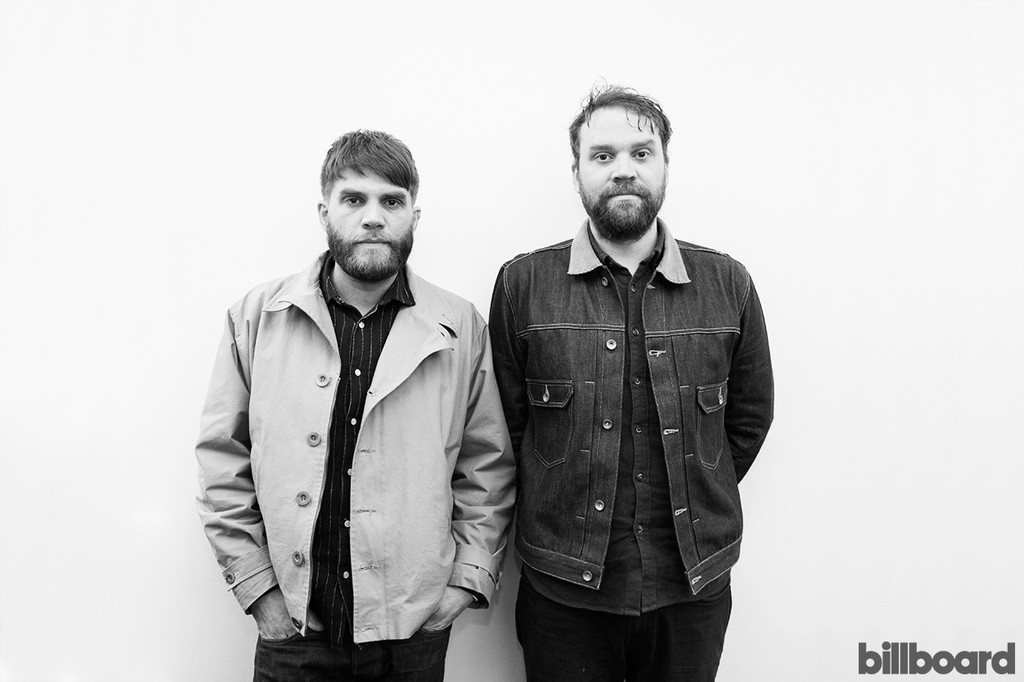 Frightened Rabbit photographed on March 30, 2016.