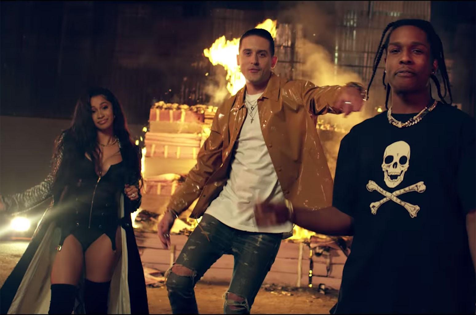 "G-Eazy  ft. A$AP Rocky, Cardi B, French Montana, Juicy J, Belly ""No Limit"" REMIX"
