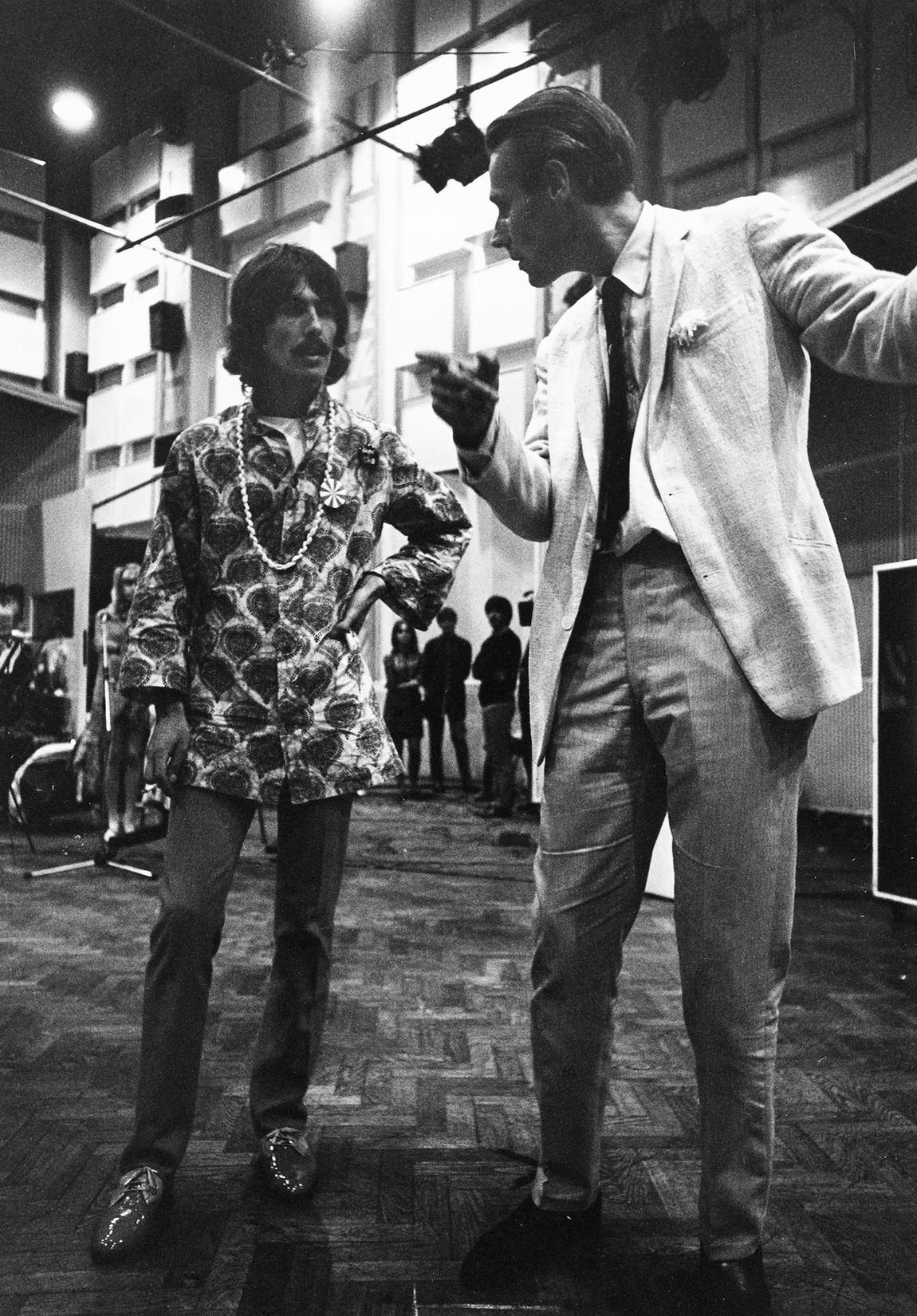George Martin, George Harrison