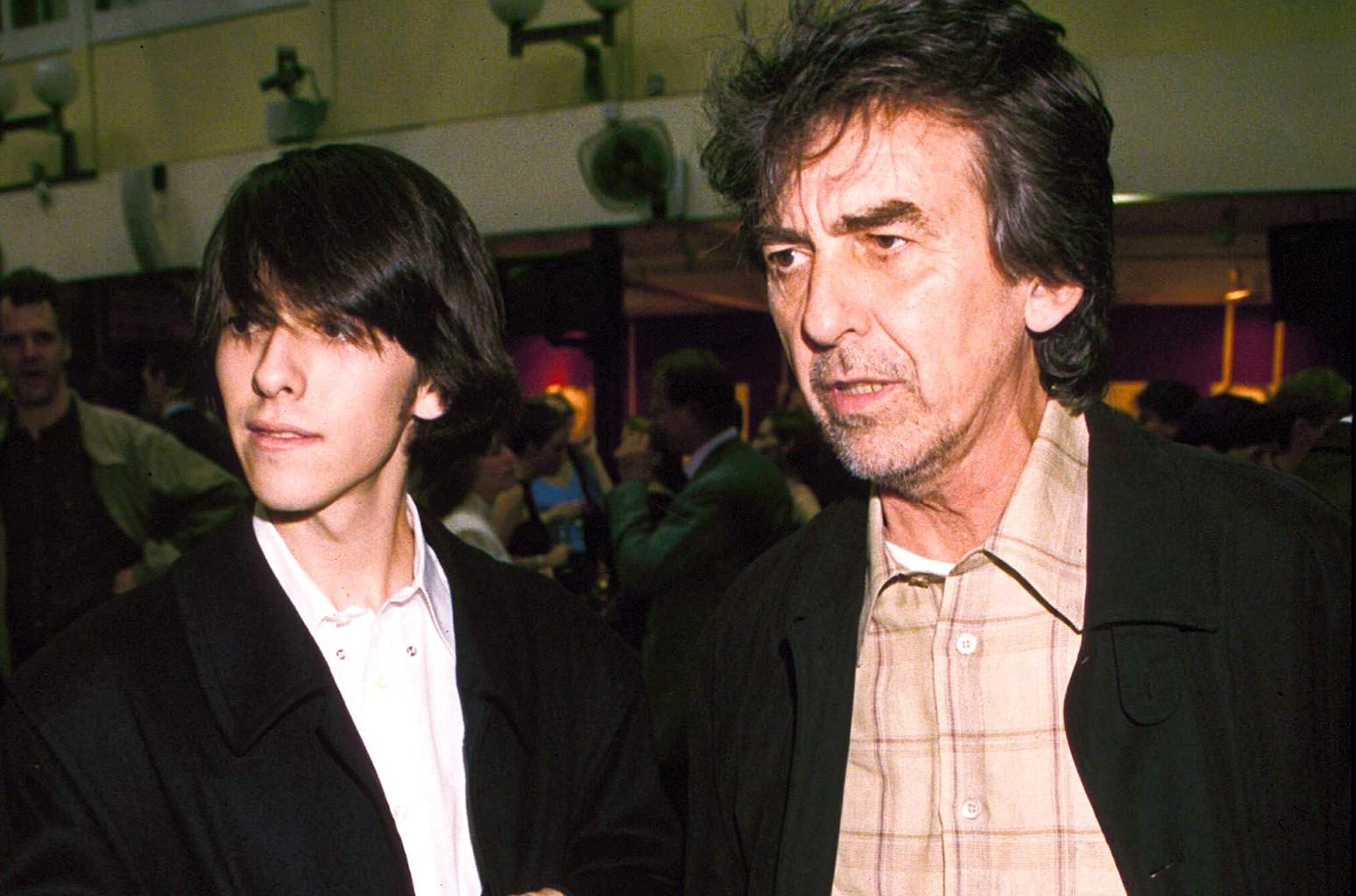 ?George Harrison and Dhani