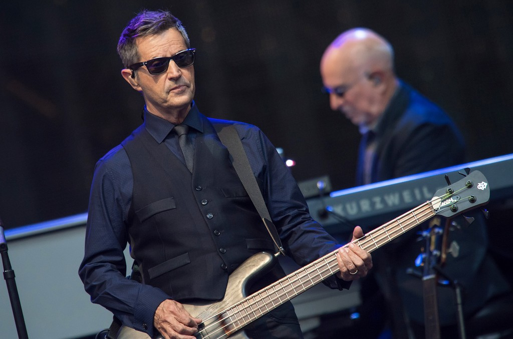 Garry Talent of the E Street Band performs on July 3, 2016 in Milan, Italy.