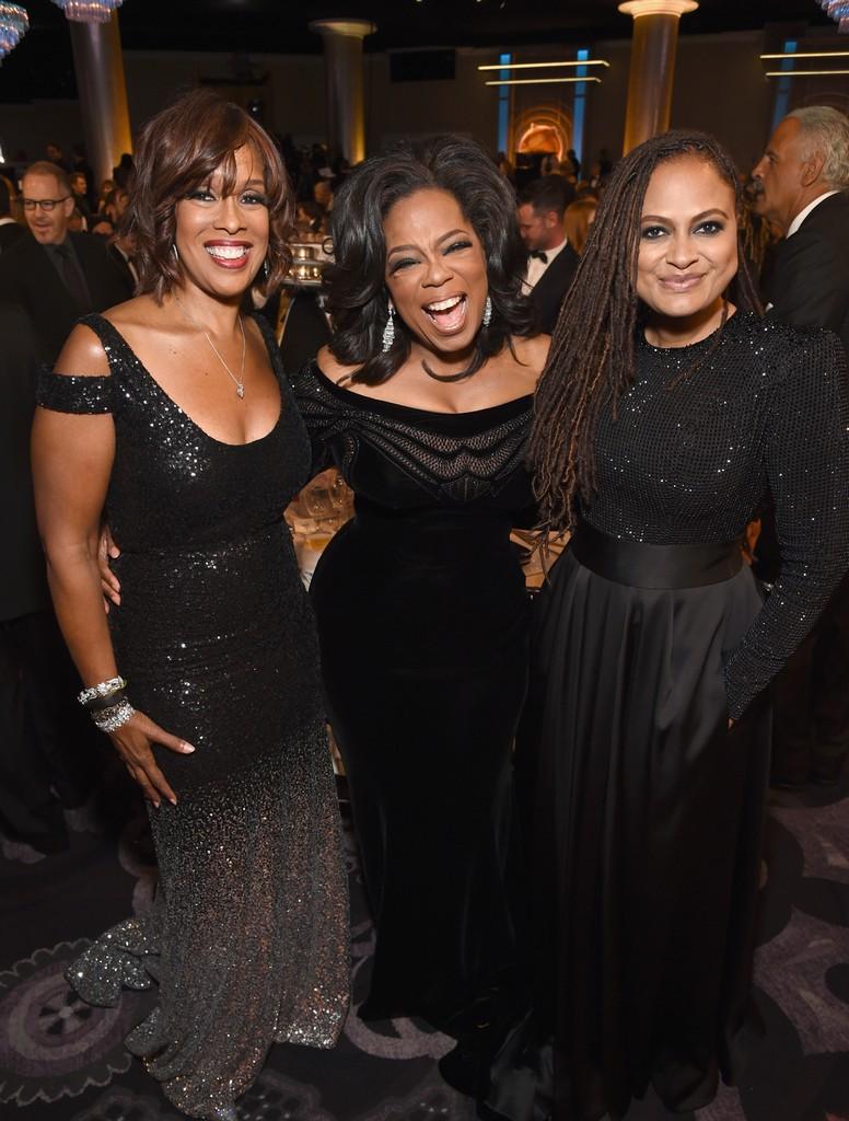 Gayle King, Oprah Winfrey & Ava DuVernay, 2018