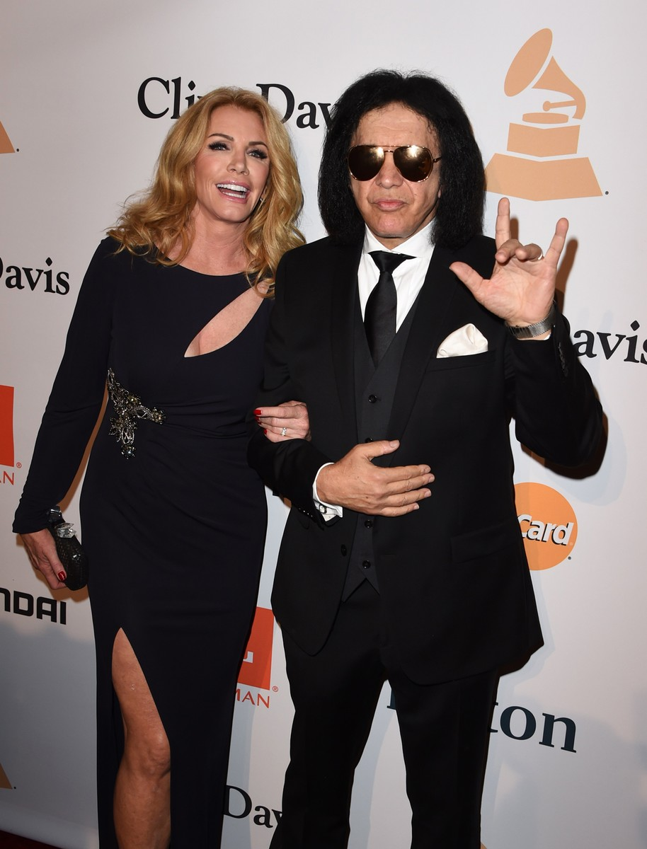 Gene Simmons and Shannon Tweed-Simmons
