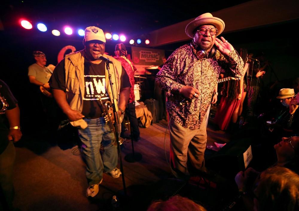 George Clinton Parliament Funkadelic sxsw 2016