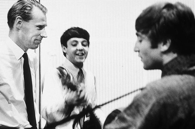 George Martin, Paul McCartney, John Lennon