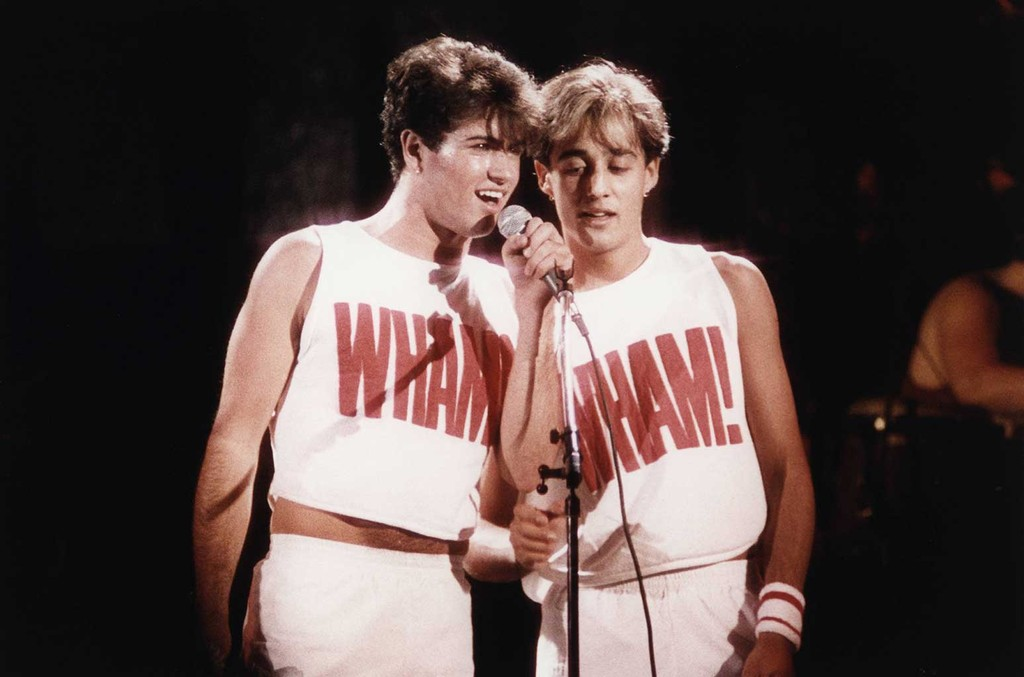 George Michael & Andrew Ridgely of WHAM!