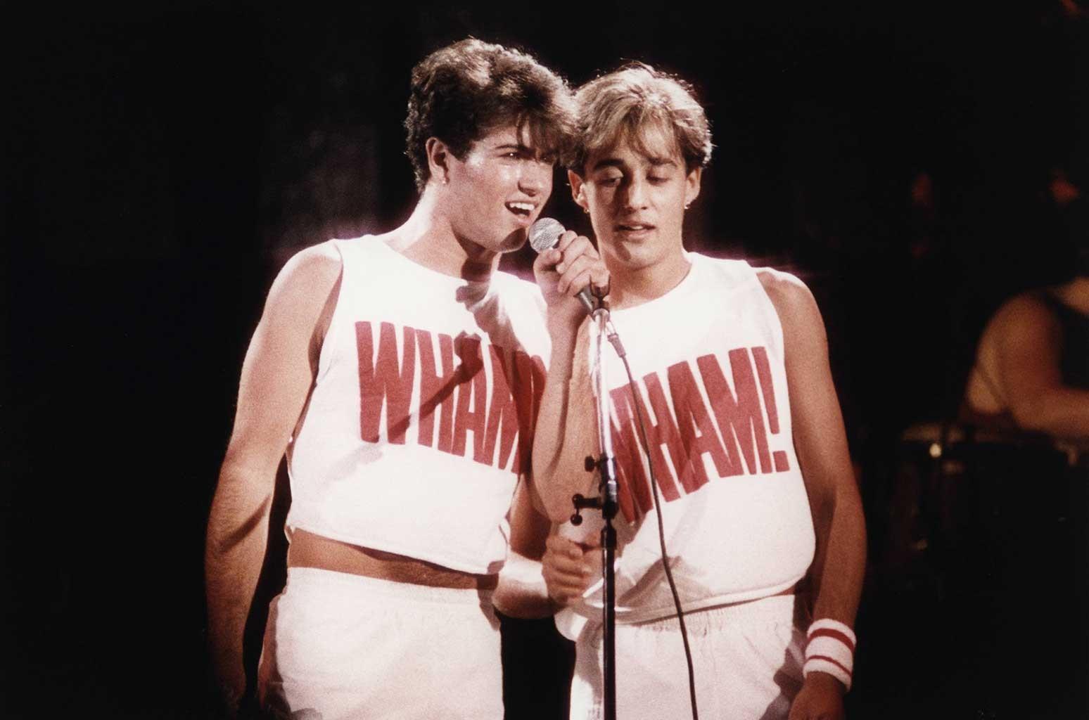 George Michael & Andrew Ridgely of WHAM!