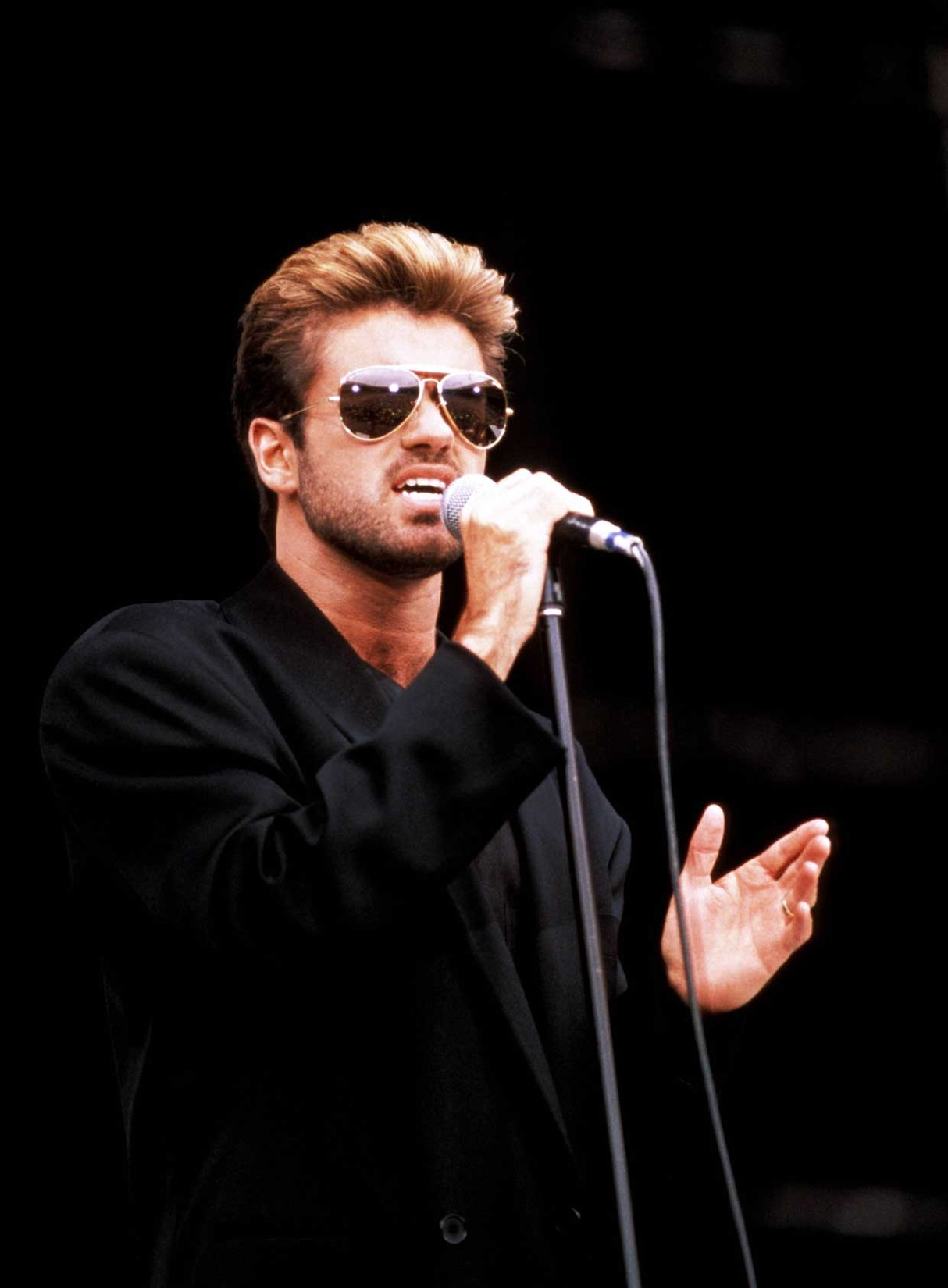 George Michael in 1988.