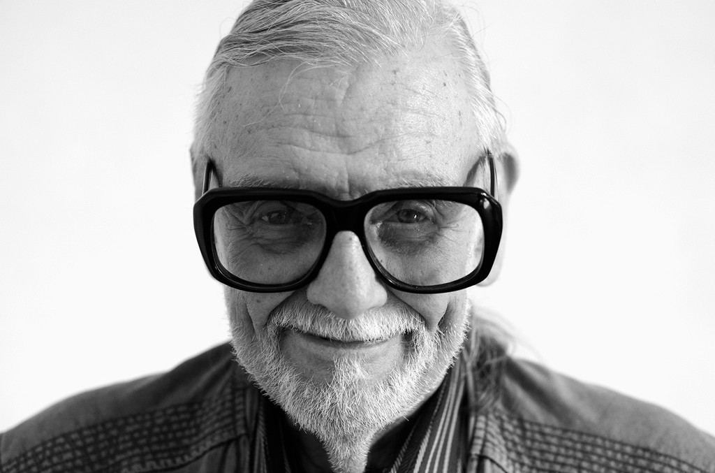 George Romero at Lucca Film Festival 2016 on April 7, 2016 in Lucca, Italy.