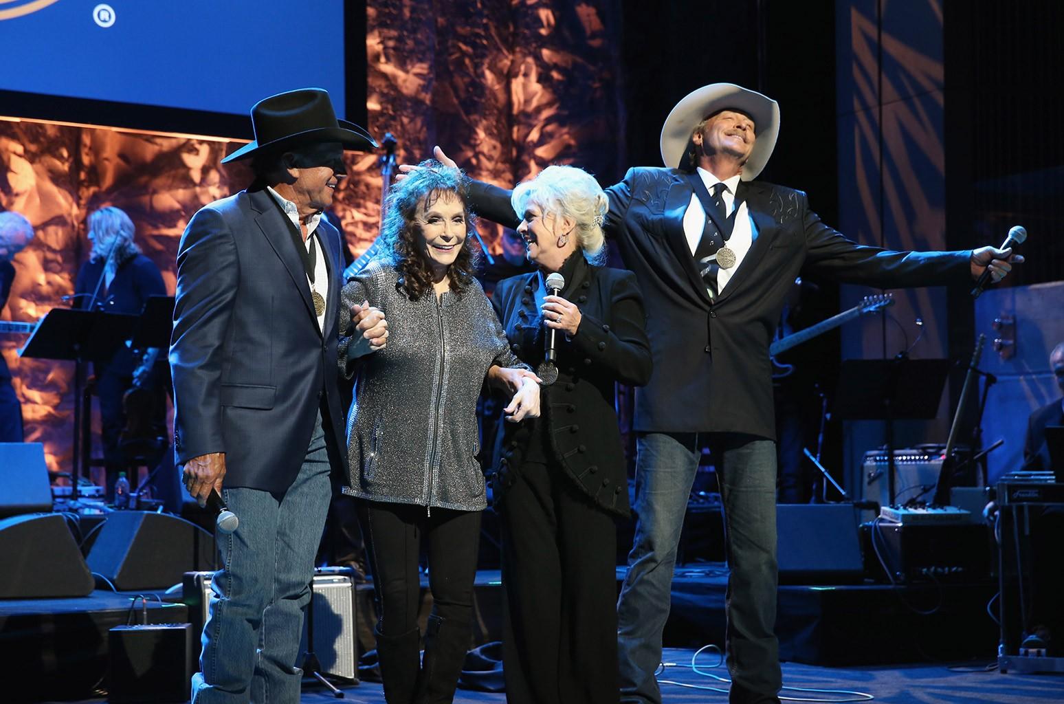 George Strait, Loretta Lynn, Connie Smith and Alan Jackson