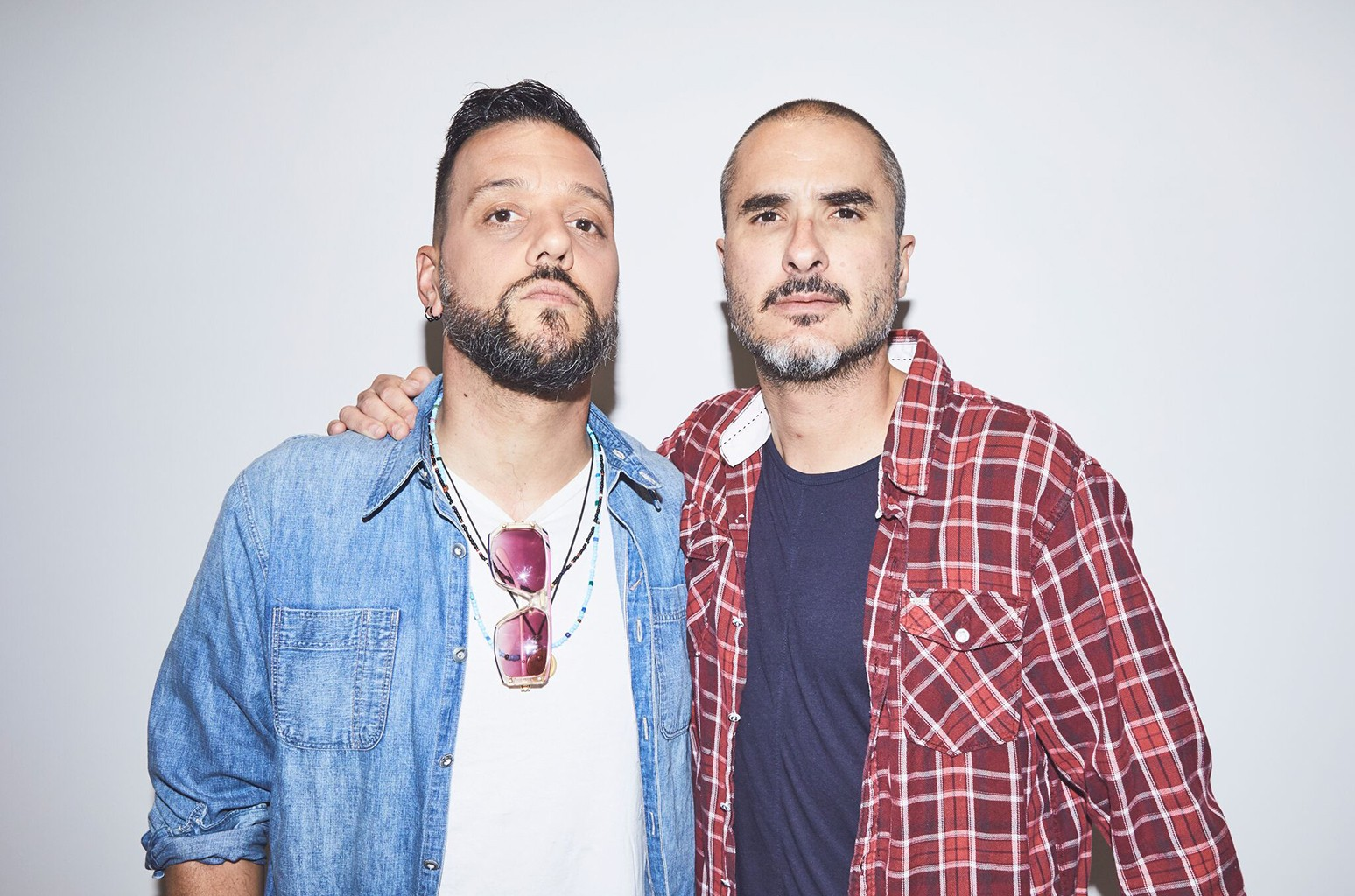George Stroumboulopoulos and Zane Lowe
