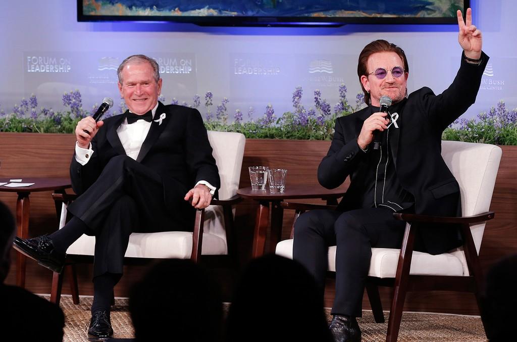 George W. Bush and Bono