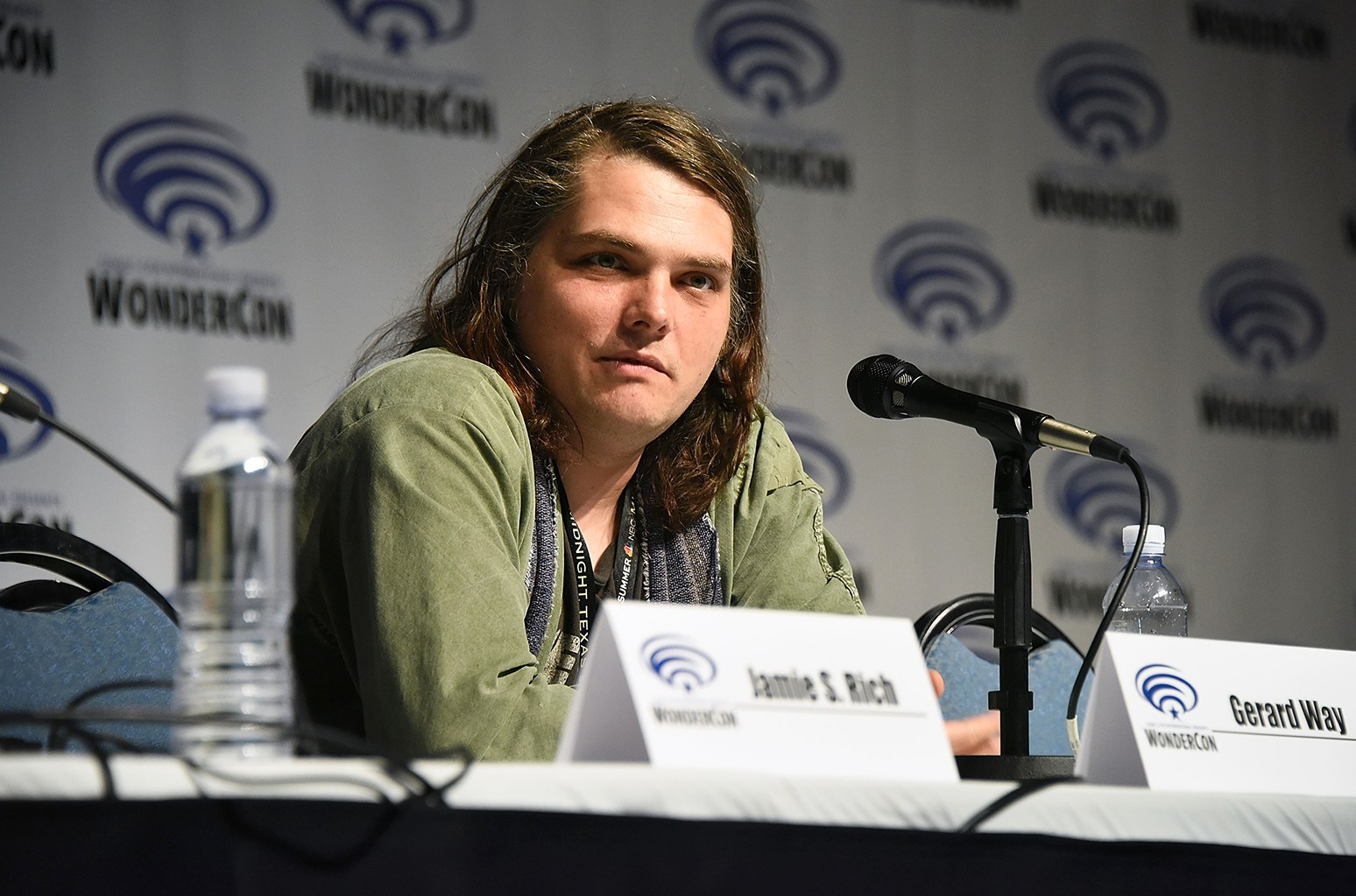Gerard Way attends day two of WonderCon 2017 at Anaheim Convention Center on April 1, 2017 in Anaheim, Calif.