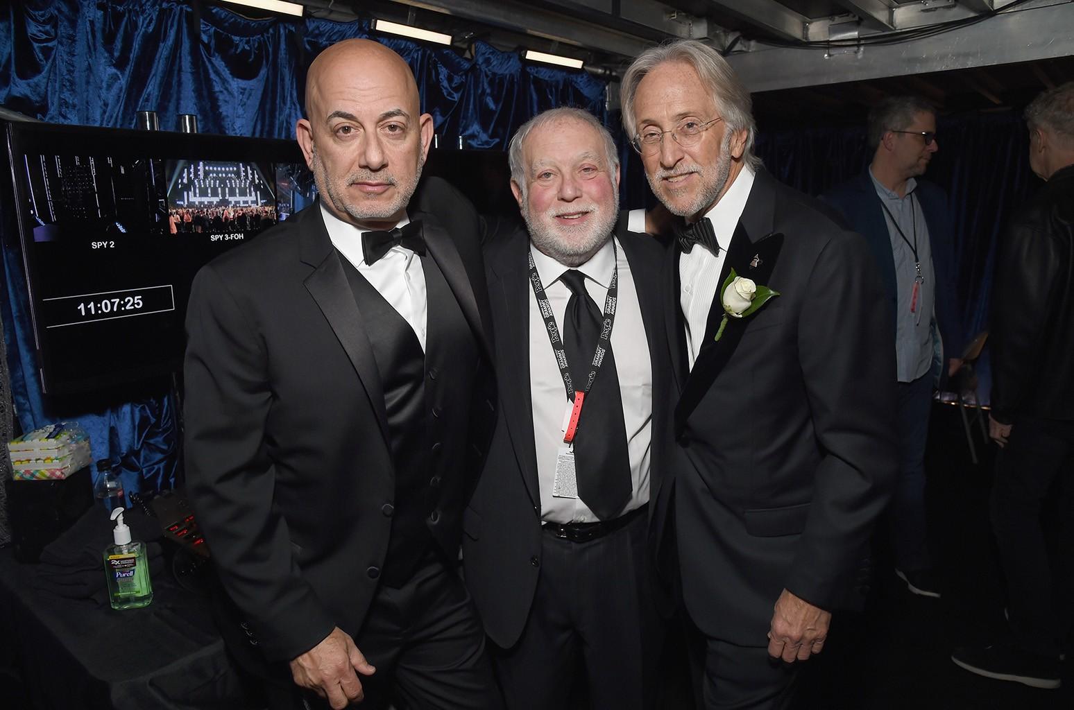 Jack Sussman, Ken Ehrlich, Neil Portnow
