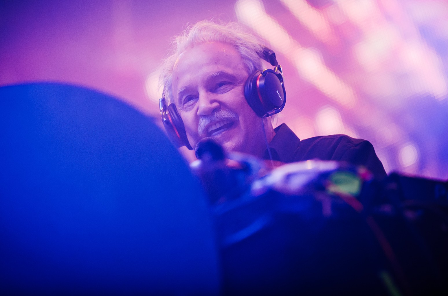 Giorgio Moroder performs in 2015
