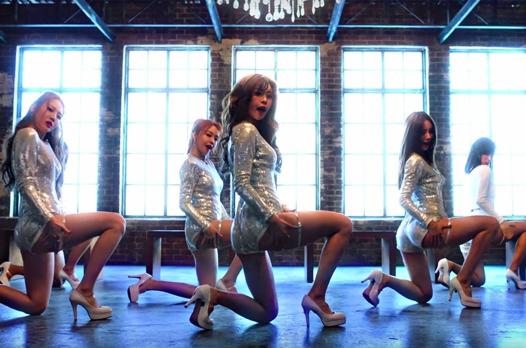 """Girl's Day in the video for """"I'll Be Yours."""""""